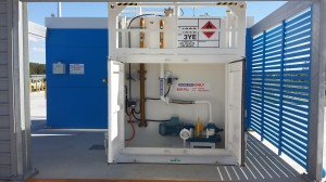 Bunded tank refuelling solutions