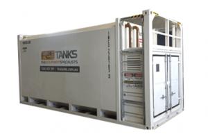 30,000 litre bunded diesel tank