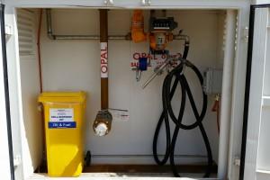 69,000 litre bunded diesel tank pumping bay