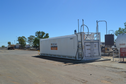 grandex68 self bunded tank longreach council depot
