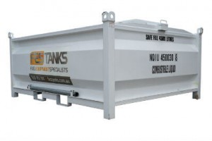 4,500litre fuel storage tank
