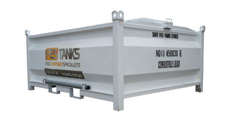 4,500litre fuel storage tank