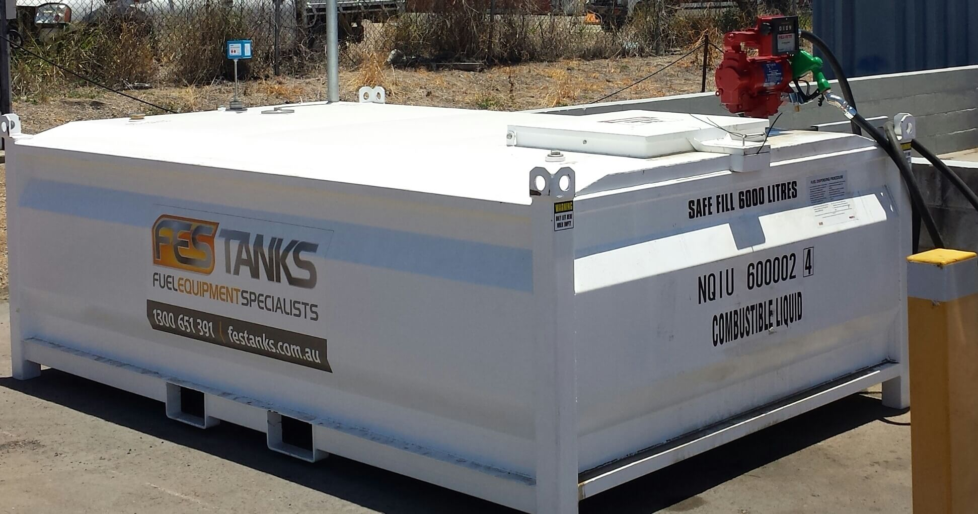 6000l Diesel Tank Also Compatible With Petrol And Oil