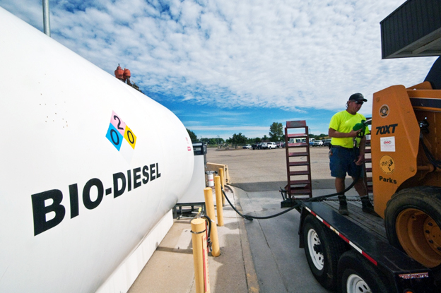 biodiesel storage and refuelling