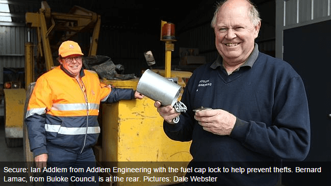 fuel cap locks for buloke council