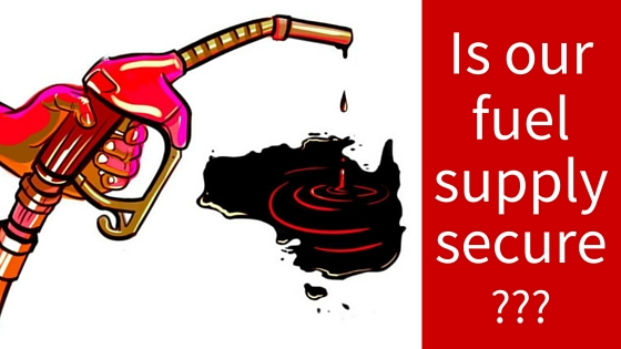 australias fuel supply security cartoon