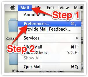 whitelisting email on mac
