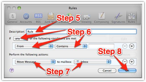 whitelisting emails on mac 3