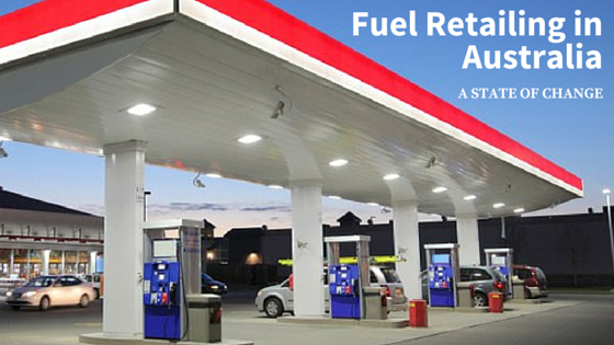 retail fuel site canopy and forecourt