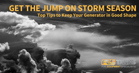 Generator Safety Checklist for Storm Season feature image.