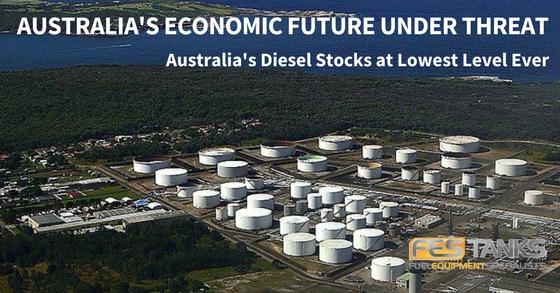 Australian Oil Refinery