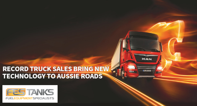 Record Truck Sales Bring New Technology to Aussie Roads-hero image