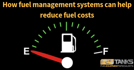 a fuel gauge representing high fuel costs, for the fuel management system hero image