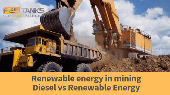 Renewable energy in mining Diesel vs Renewable Energy hero image