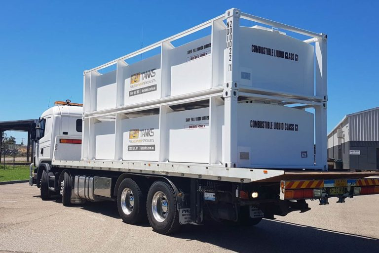 10000 litre self bunded tank delivery