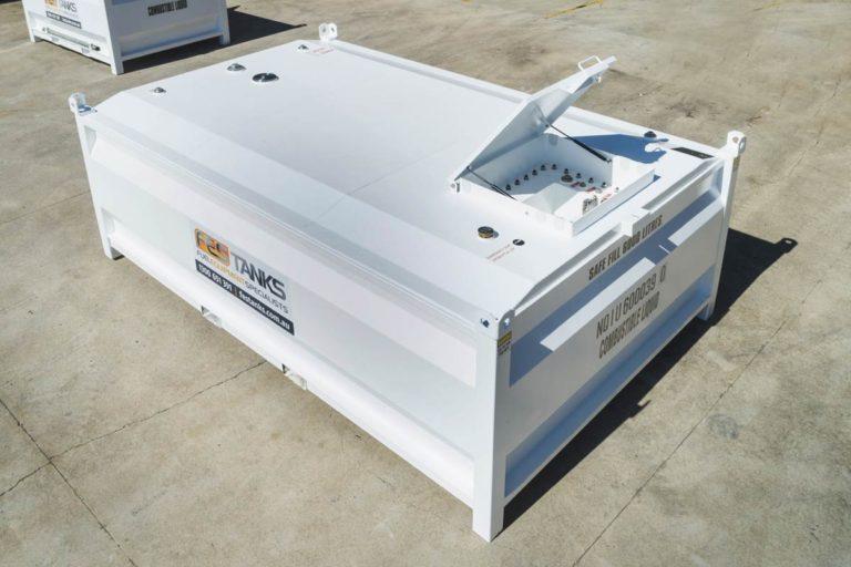 photo of 6000 litre self bunded tank