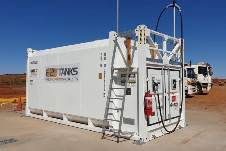 mining-30000l-aboveground-fuel-storage-tank