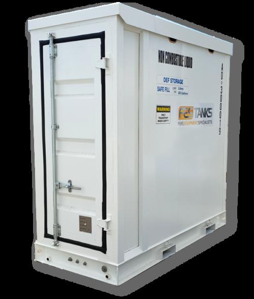 Adblue storage tank