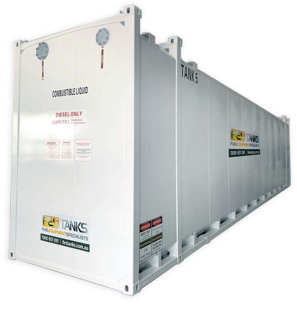 110,000L Aboveground Fuel Storage Tank